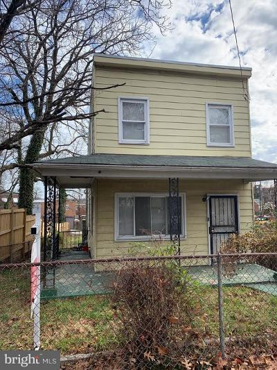 Single Family Home For Sale: 3618 Martin Luther King Jr Avenue SE
