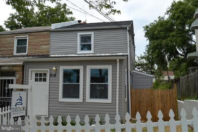 Deanwood Single Family Home Under Contract: 816 51st Street NE