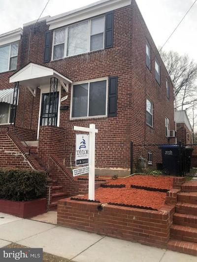 Deanwood Single Family Home For Sale: 4007 Ames Street NE