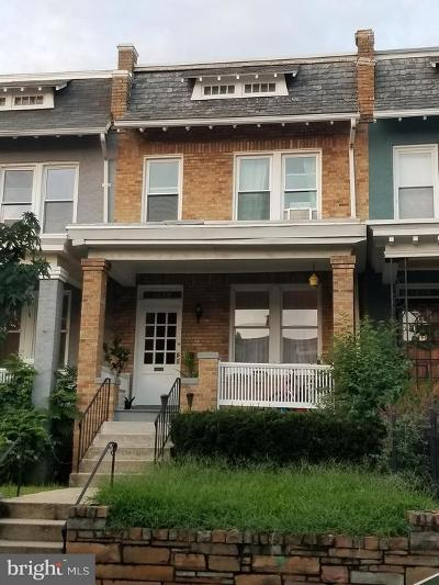Washington Townhouse For Sale: 1248 Oates Street NE