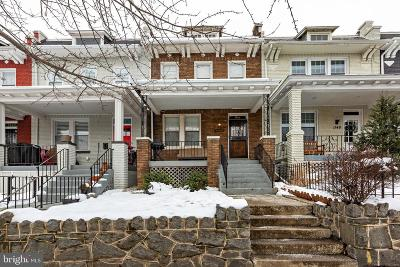 Washington Townhouse For Sale: 1146 4th Street NE