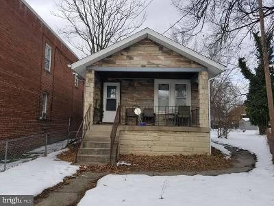 Washington DC Single Family Home For Sale: $150,000