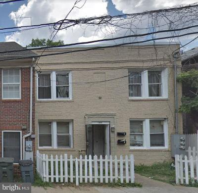 Washington Multi Family Home For Sale: 1859 Corcoran Street NE