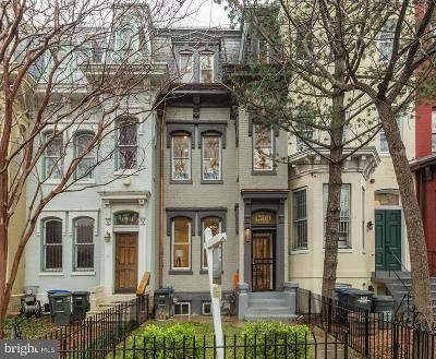 Townhouse For Sale: 1509 Vermont Avenue NW