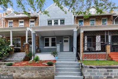 Townhouse For Sale: 5712 8th Street NW