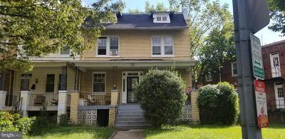 Columbia Heights, Columbia Heights/U St Single Family Home For Sale: 3905 Kansas Avenue NW