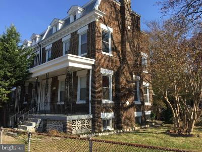 Petworth Rental For Rent: 4001 New Hampshire Avenue NW