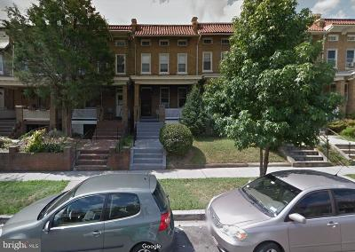 Columbia Heights Townhouse For Sale: 1322 Randolph Street NW
