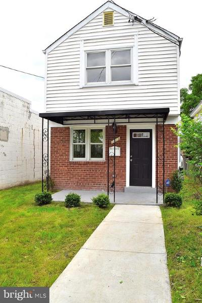 Brookland Single Family Home For Sale: 1713 Newton Street NE