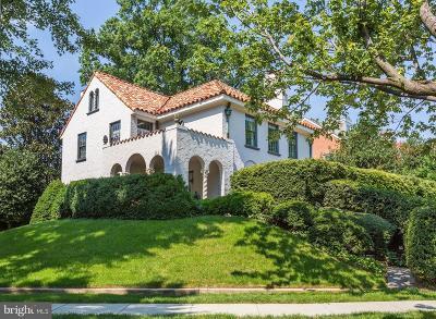 Washington Single Family Home For Sale: 3600 Massachusetts Avenue NW