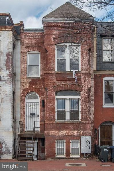 Townhouse For Sale: 407 Florida Avenue NW