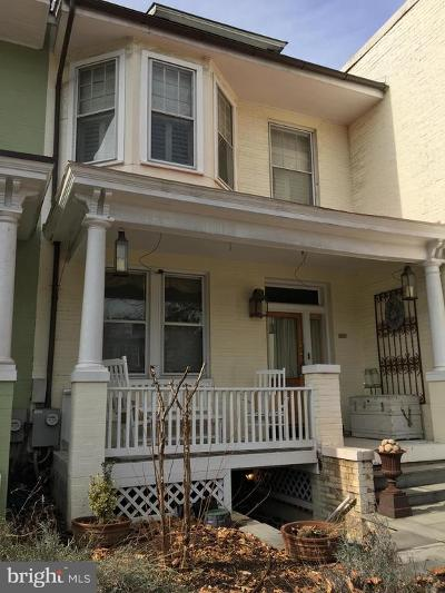 Washington DC Townhouse For Sale: $2,300