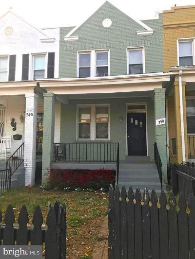 Washington Townhouse For Sale: 750 19th Street NE