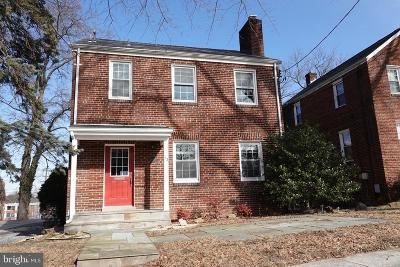 Washington DC Single Family Home For Sale: $699,000