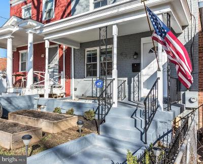 Washington Townhouse For Sale: 421 Longfellow Street NW