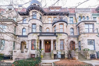 Townhouse For Sale: 1704 Q Street NW
