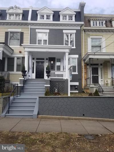 Washington Townhouse For Sale: 1513 NW Buchanan Street NW