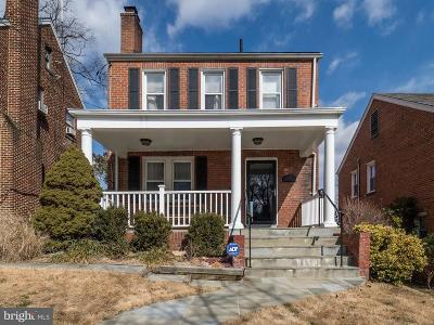 Michigan Park Single Family Home For Sale: 1928 Shepherd Street NE