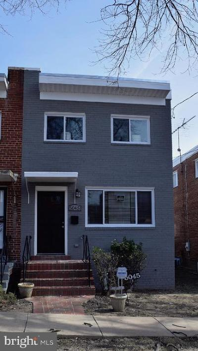 Washington DC Single Family Home For Sale: $589,000