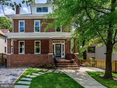 Washington Single Family Home For Sale: 2509 Brentwood Road NE