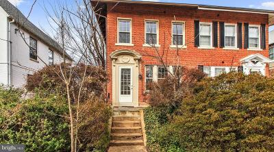 American University Park Single Family Home For Sale: 4435 Fessenden Street NW