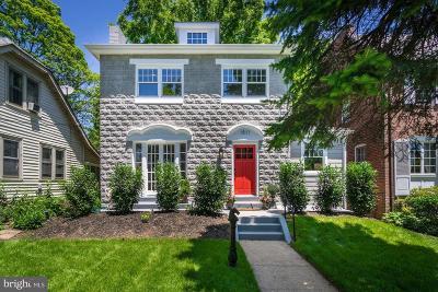 Washington Single Family Home For Sale: 1511 Foxhall Road NW