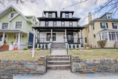 Washington Single Family Home For Sale: 5610 14th Street NW