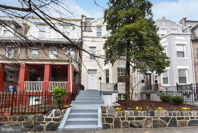 Petworth, Petworth/16th Street Heights, Petworth/Brightwood, Petwoth Townhouse Under Contract: 737 Quebec Place NW