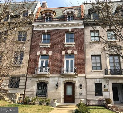 Washington Townhouse For Sale: 2211 Massachusetts Avenue NW