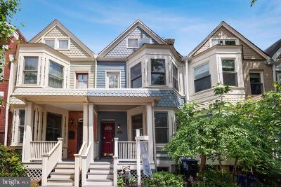 Washington Townhouse For Sale: 1923 6th Street NW