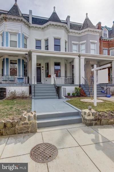 Washington Townhouse For Sale: 36 Adams Street NW