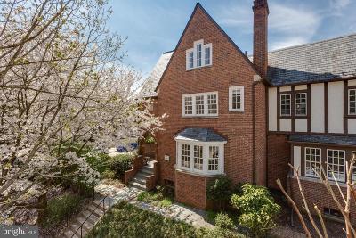 Washington Single Family Home For Sale: 1536 44th Street NW