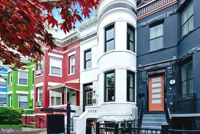 Townhouse For Sale: 40 U Street NW