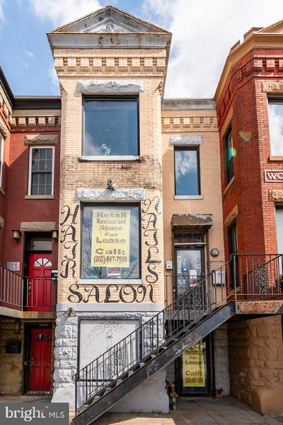 Washington Townhouse For Auction: 1709 N Capitol Street NE