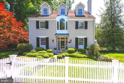 Chevy Chase Single Family Home For Sale: 3140 Aberfoyle Place NW
