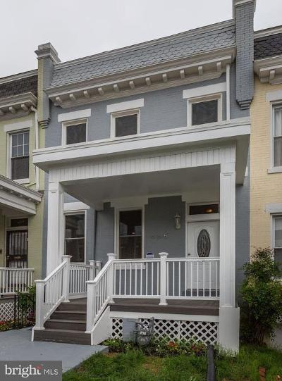 Columbia Heights, Columbia Heights/U St Townhouse For Sale: 465 Luray Place NW