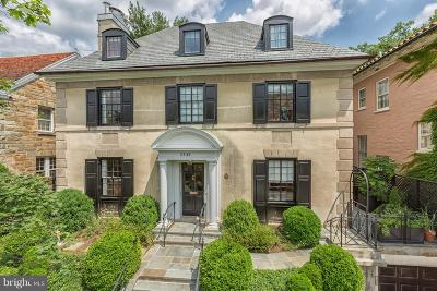 Kalorama Single Family Home For Sale: 2435 Tracy Place NW