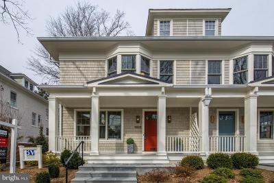 Washington Single Family Home For Sale: 3823 Morrison Street NW