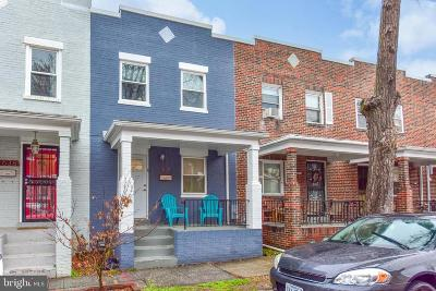 Kingman Park Townhouse For Sale: 1638 Rosedale Street NE