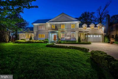 Kent Single Family Home For Sale: 3110 Chain Bridge Road NW