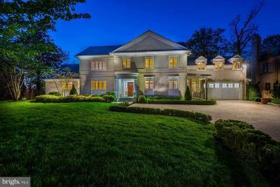 Washington Single Family Home For Sale: 3110 Chain Bridge Road NW
