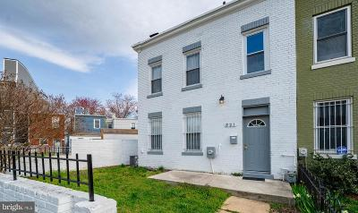 H Street Coridor, H Street Corridor Townhouse For Sale: 821 W Virginia Avenue NE