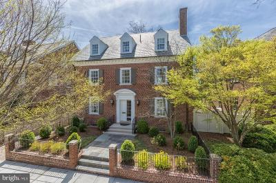 Washington DC Single Family Home For Sale: $3,200,000
