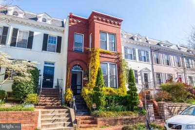 Georgetown Townhouse For Sale: 3033 Dent Place NW