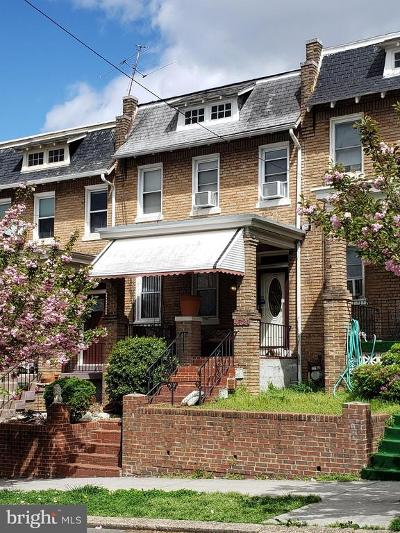 Washington Townhouse For Sale: 4721 9th Street NW