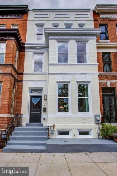 Capitol Hill Townhouse For Sale: 1016 D Street NE