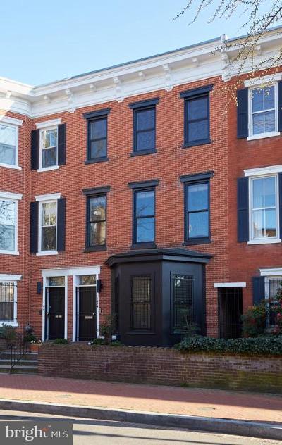 Washington DC Townhouse For Sale: $1,995,000