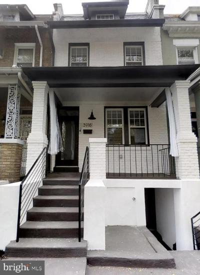 Columbia Heights, Columbia Heights/U St Townhouse For Sale: 3916 Kansas Avenue NW