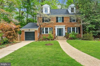 Washington Single Family Home For Sale: 4739 Berkeley Terrace NW