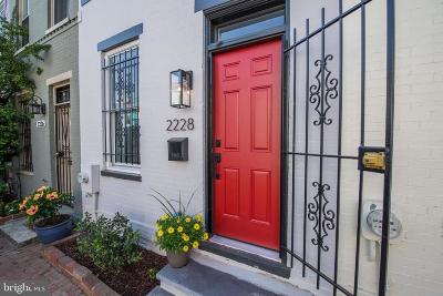 Washington Townhouse For Sale: 2228 12th Place NW